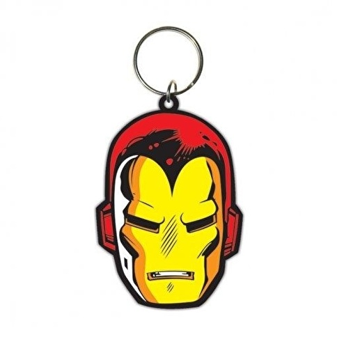 Pyramid International Iron Man Face Anahtarlık Renkli